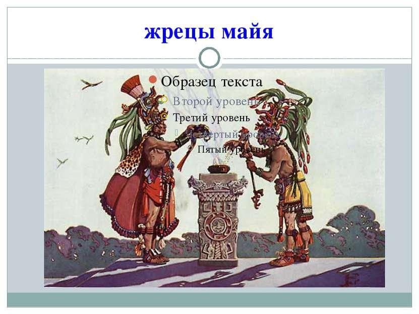 жрецы майя