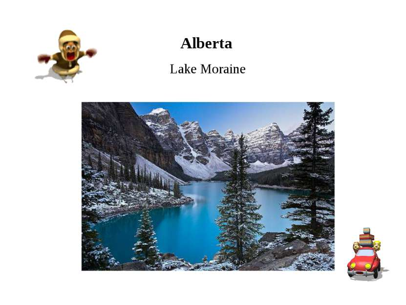 Alberta Lake Moraine
