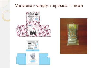Упаковка: хедер + крючок + пакет