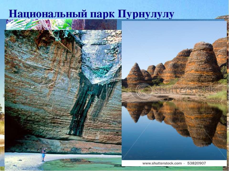 Национальный парк Пурнулулу географические координаты - 17°ю.ш.,129°в.д. Зани...