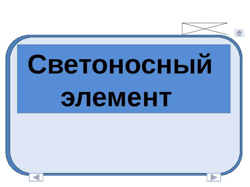 Светоносный элемент Нижегородская область Кстовский район МОУ Запрудновская СОШ