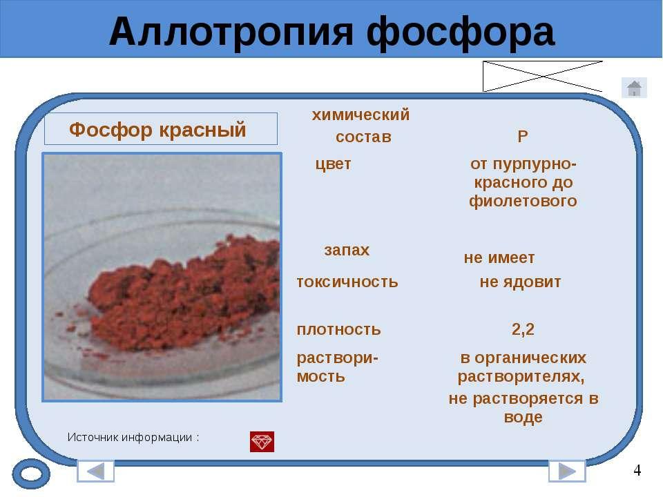 Природные соединения фосфора Вивианит Источник информации : Описание минерала...