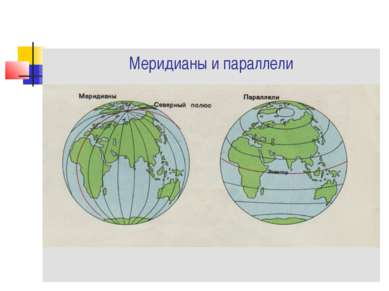 Меридианы и параллели