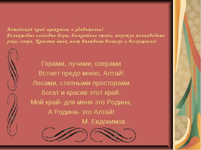 Алтайский край прекрасен и удивителен! Реликтовые сосновые боры, бескрайние с...