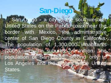 San-Diego San Diego - a city in the southwestern United States on the Pacific...