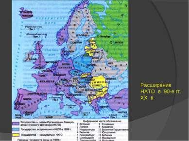 Расширение НАТО в 90-е гг. XX в.