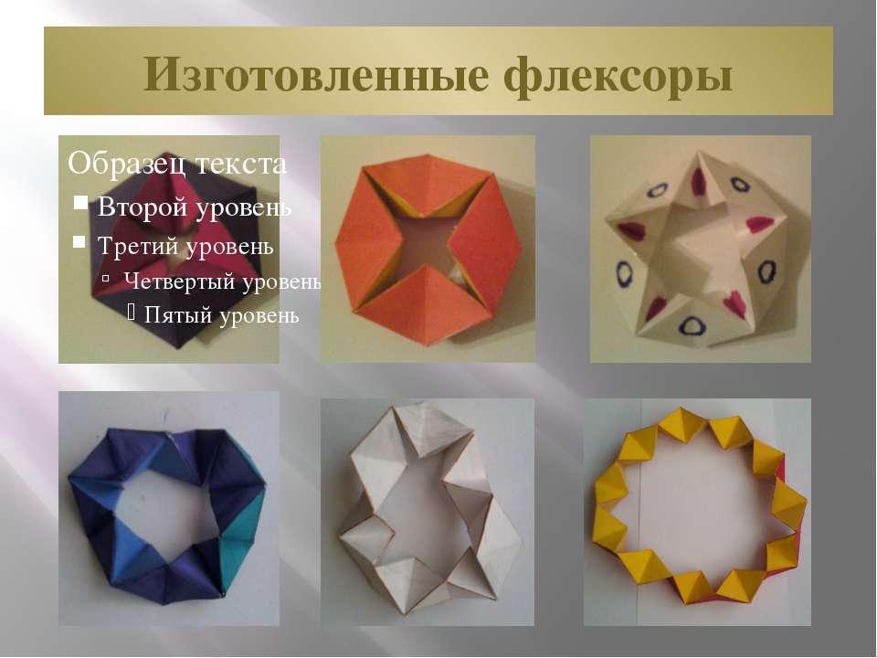 Изготовленные флексоры