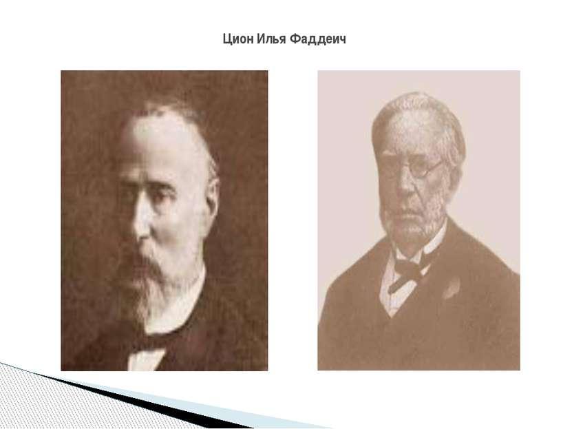 Цион Илья Фаддеич