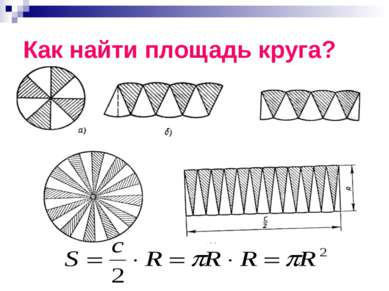 Как найти площадь круга?