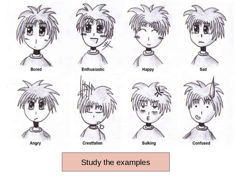 Study the examples