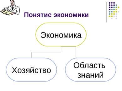 Понятие экономики