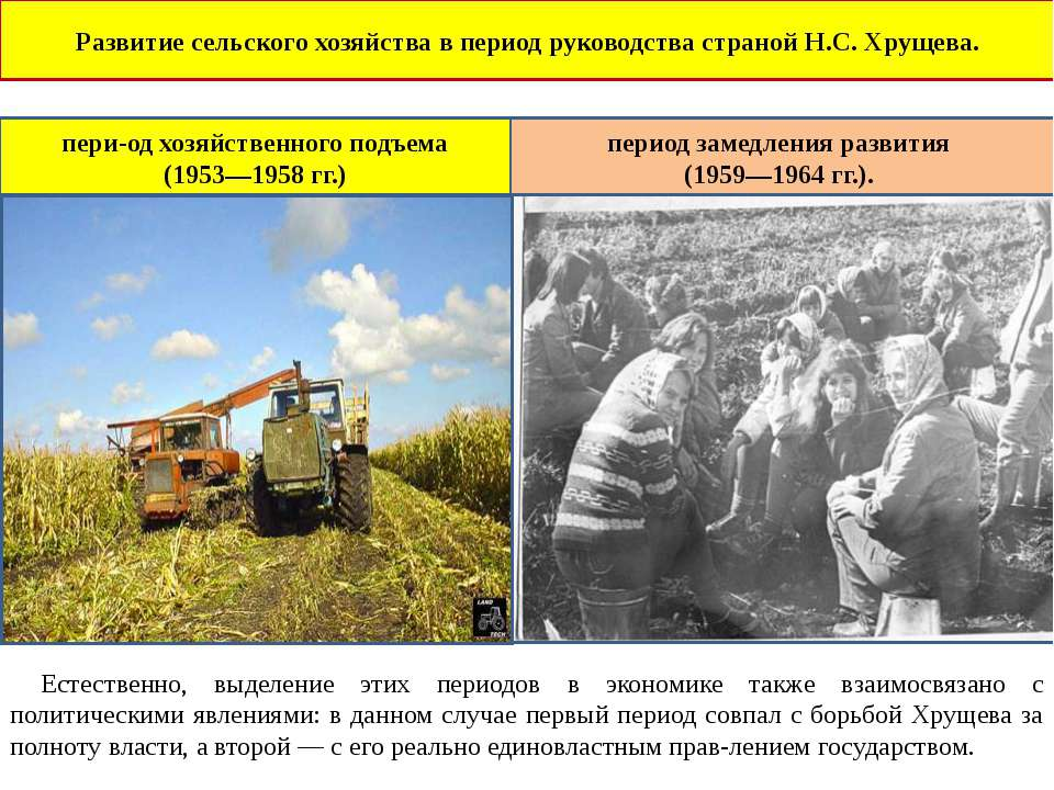 период руководства хрущева - фото 7