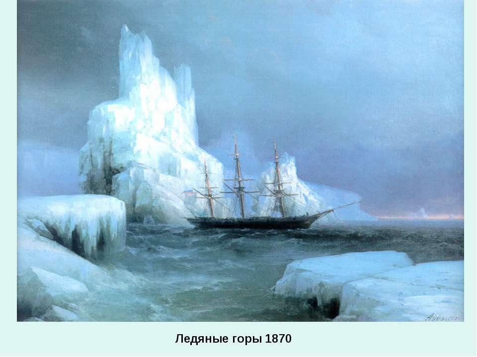 Ледяные горы 1870