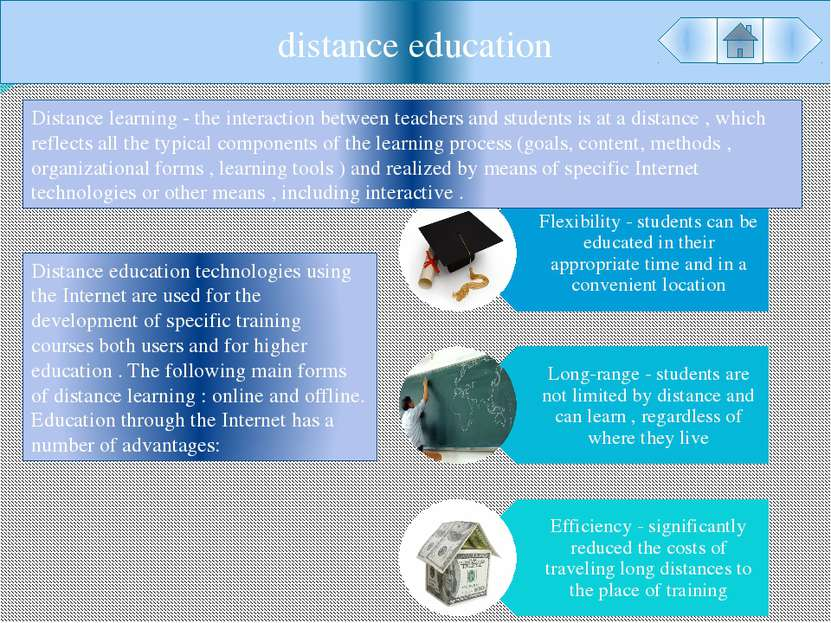 distance education Distance learning - the interaction between teachers and s...
