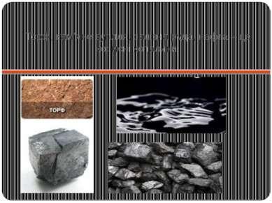 Торф, кам'яне вугілля, залізна руда, нафта – це корисні копалини.