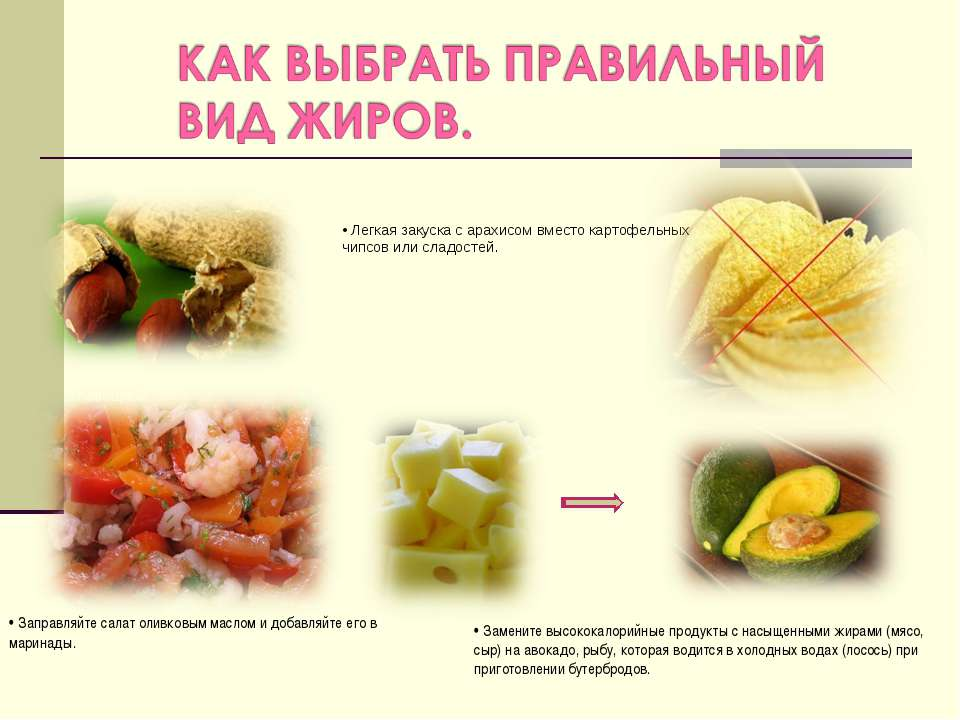 • Легкая закуска с арахисом вместо картофельных чипсов или сладостей. • Запра...