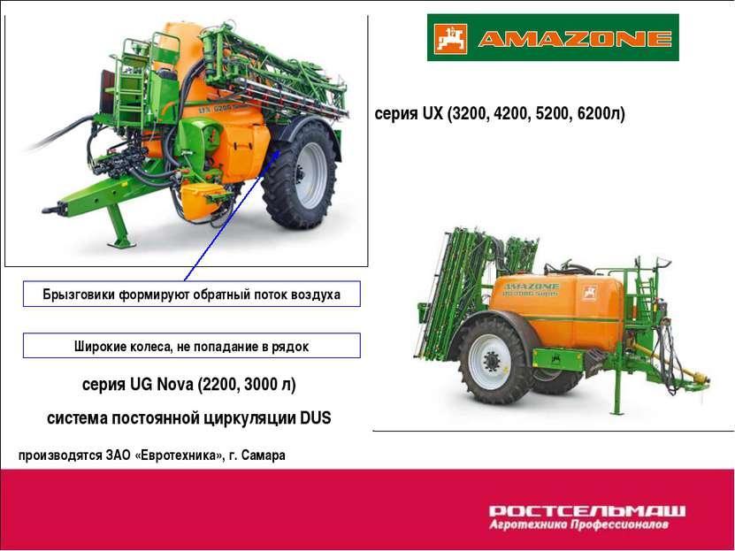 серия UX (3200, 4200, 5200, 6200л) серия UG Nova (2200, 3000 л) система посто...