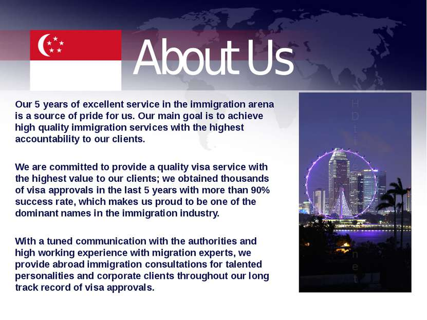 About Us Our 5 years of excellent service in the immigration arena is a sourc...