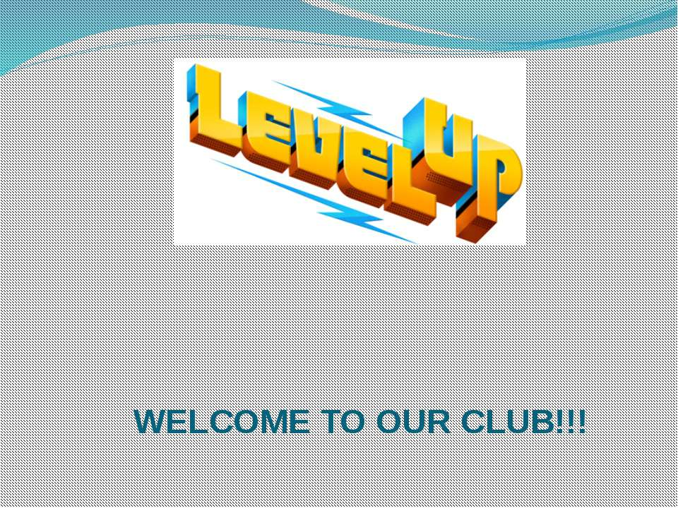 WELCOME TO OUR CLUB!!!