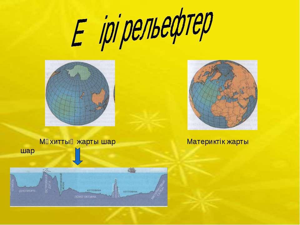 Мұхиттық жарты шар Материктік жарты шар