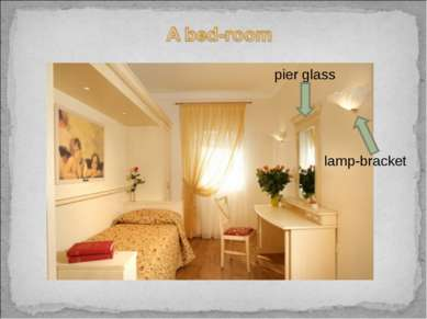 pier glass lamp-bracket