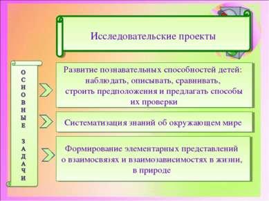 Развитие познавательных способностей детей: наблюдать, описывать, сравнивать,...
