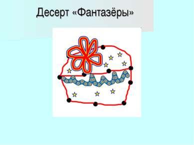 Десерт «Фантазёры»