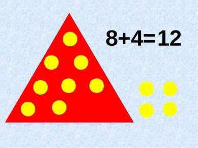 8+4= 12
