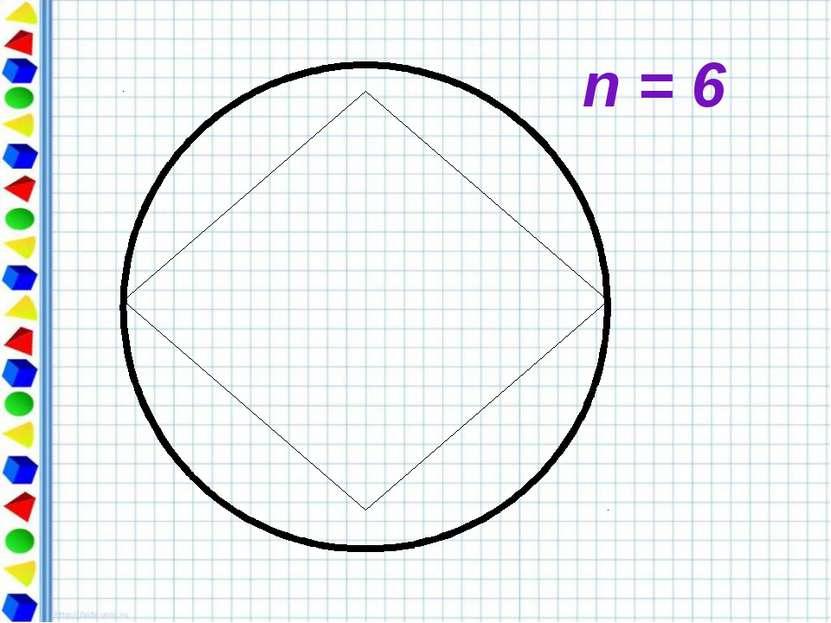 n = 6