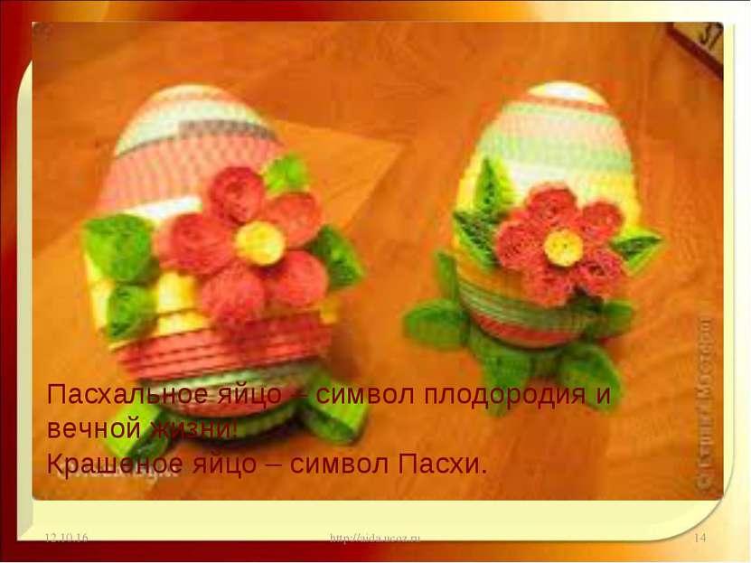 * http://aida.ucoz.ru * Пасхальное яйцо – символ плодородия и вечной жизни! К...