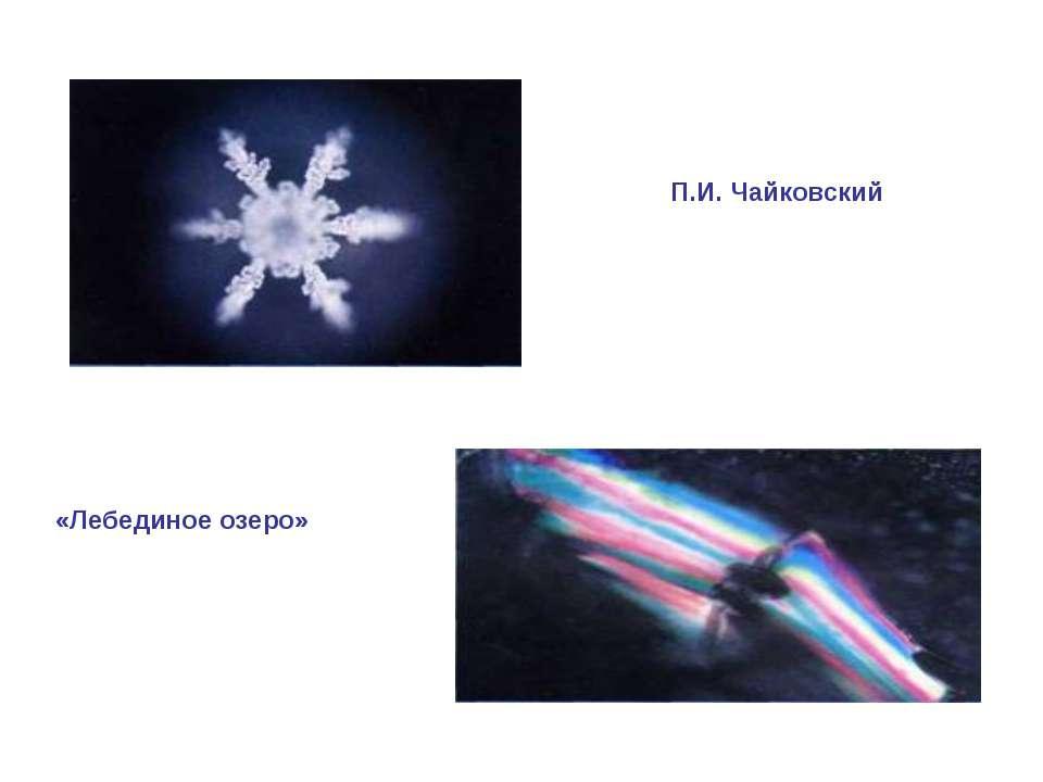 П.И. Чайковский «Лебединое озеро»