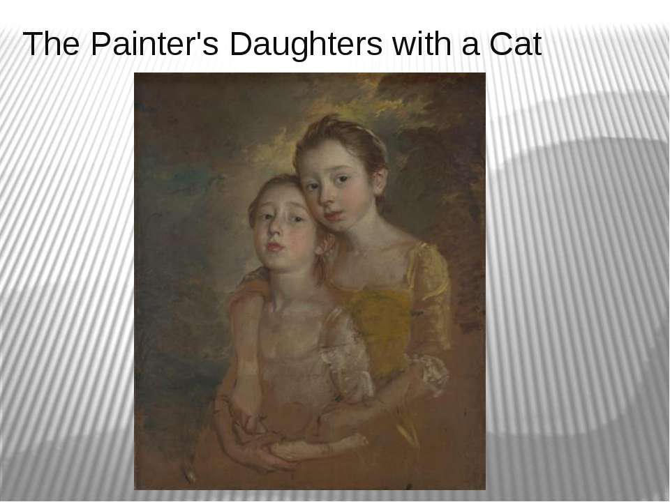 The Painter's Daughters with a Cat