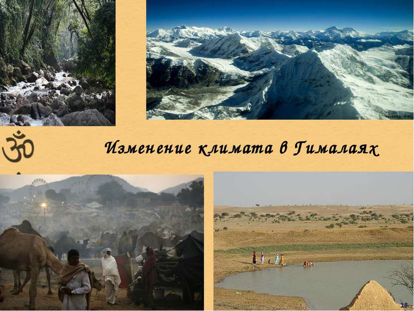 Изменение климата в Гималаях 18