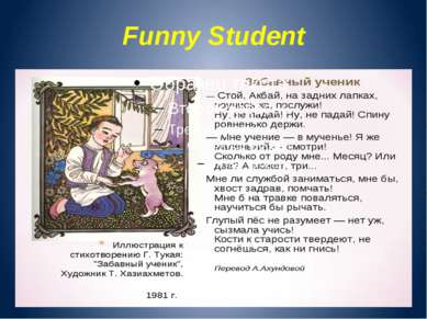 Funny Student