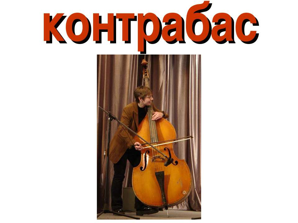 контрабас