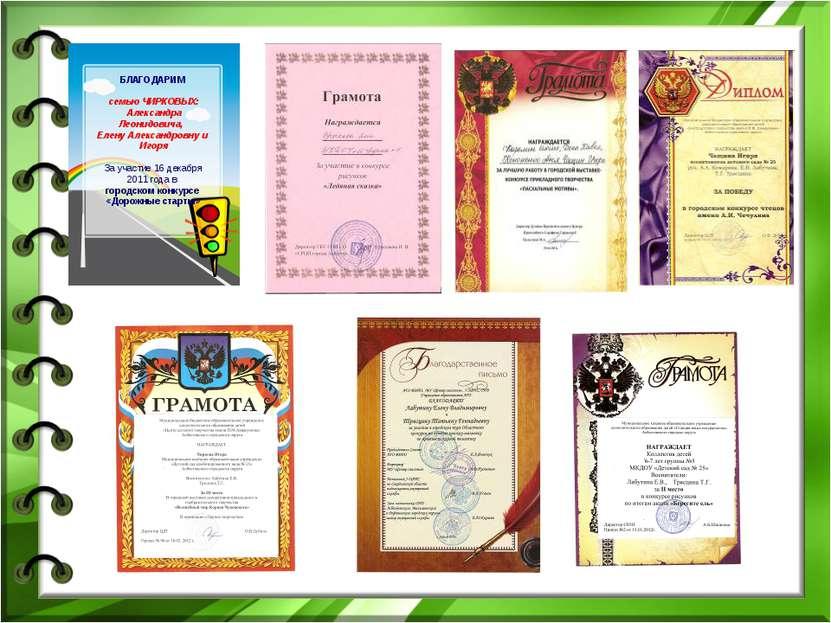 БЛАГОДАРИМ семью ЧИРКОВЫХ: Александра Леонидовича, Елену Александровну и Игор...