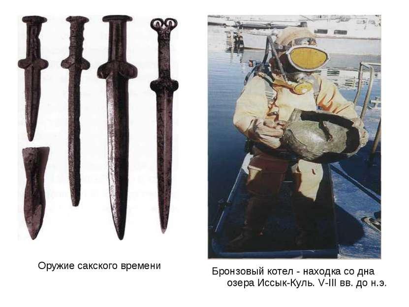 Оружие сакского времени