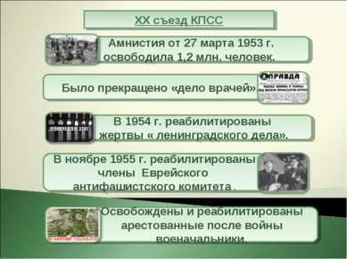XX съезд КПСС