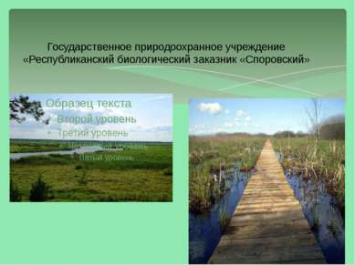 Государственное природоохранное учреждение «Республиканский биологический зак...