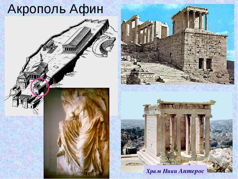 Акрополь Афин Храм Ники Аптерос