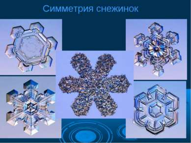 Симметрия снежинок