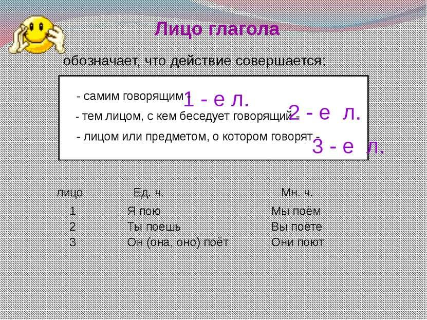 Безличные глаголы обозначают действие, которое совершается без действующего л...