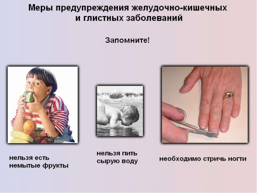 """Презентация """"Гигиена питания и предупреждение желудочно-кишечных заболеваний"""" - скачать бесплатно"""
