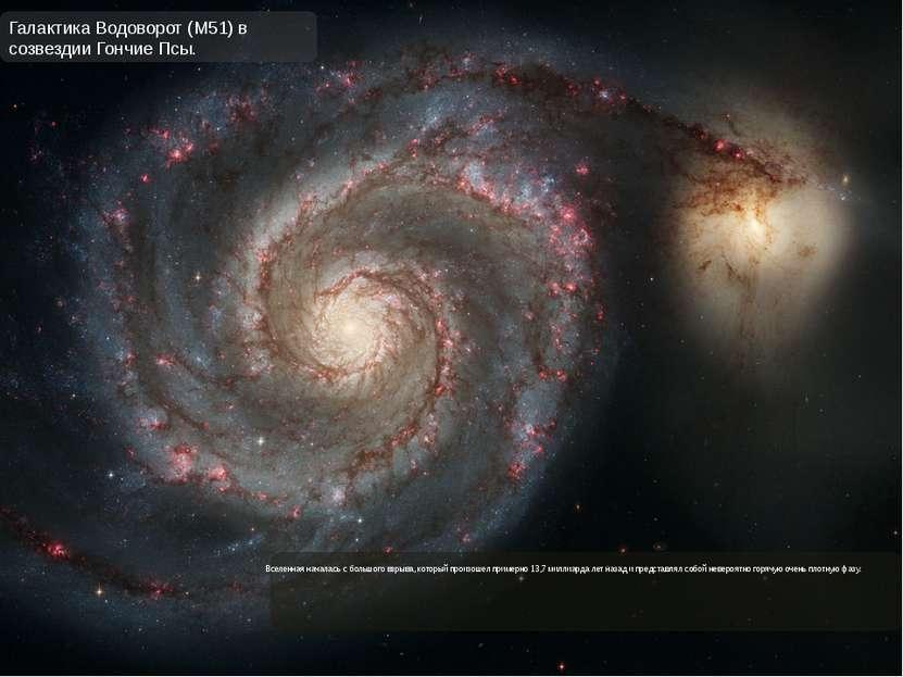 Вселенная началась с большого взрыва, который произошел примерно 13,7 миллиар...