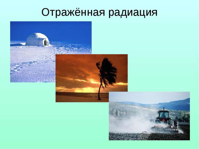 Отражённая радиация