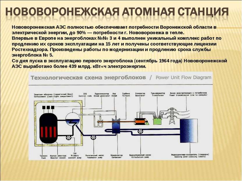 Нововоронежская АЭС полностью обеспечивает потребности Воронежской области в ...
