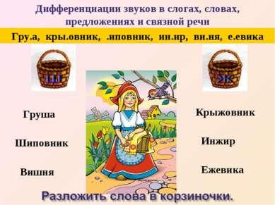 Груша Шиповник Вишня Крыжовник Инжир Ежевика Гру.а, кры.овник, .иповник, ин.и...