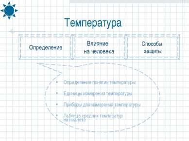 Определение понятия температуры Единицы измерения температуры Приборы для изм...