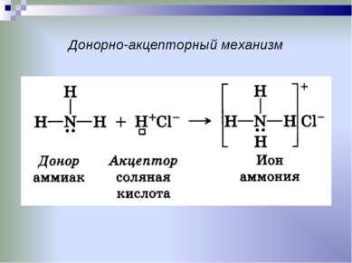 Донорно-акцепторный механизм