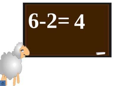 6-2= 4